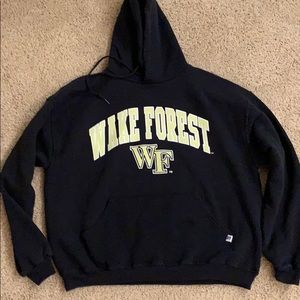 Russell athletic wake forest sweat shirt